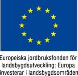 Logotyp Europeiska jordburuksfonden för landsbygdsutveckling